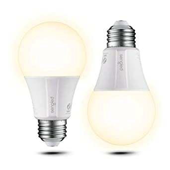 Sengled Element 2 bombillas LED E27, iluminación inteligente Luz blanca cálida Regulable 2700K 60W Equivalente