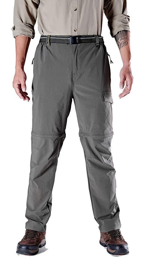 59beb10be0 TBMPOY Men's Comfort Stretch Utility Operator Pants Mountain Camping  Military Trouser(Brown,us S
