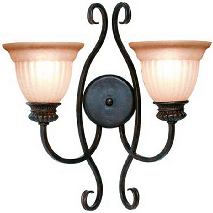 Woodbridge Lighting 42026 Rbz 2 Light Fairhaven Wall Sconce Royal Bronze Amazon Com
