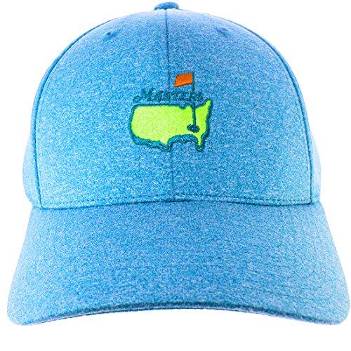 Masters新しいオーガスタNationalヘザーブルーパフォーマンスTech調節可能な帽子/キャップ