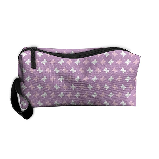 302b15fce738 Amazon.com: Cosmetic Bag Cute Animal Colorful Butterfly Toiletry Bag ...