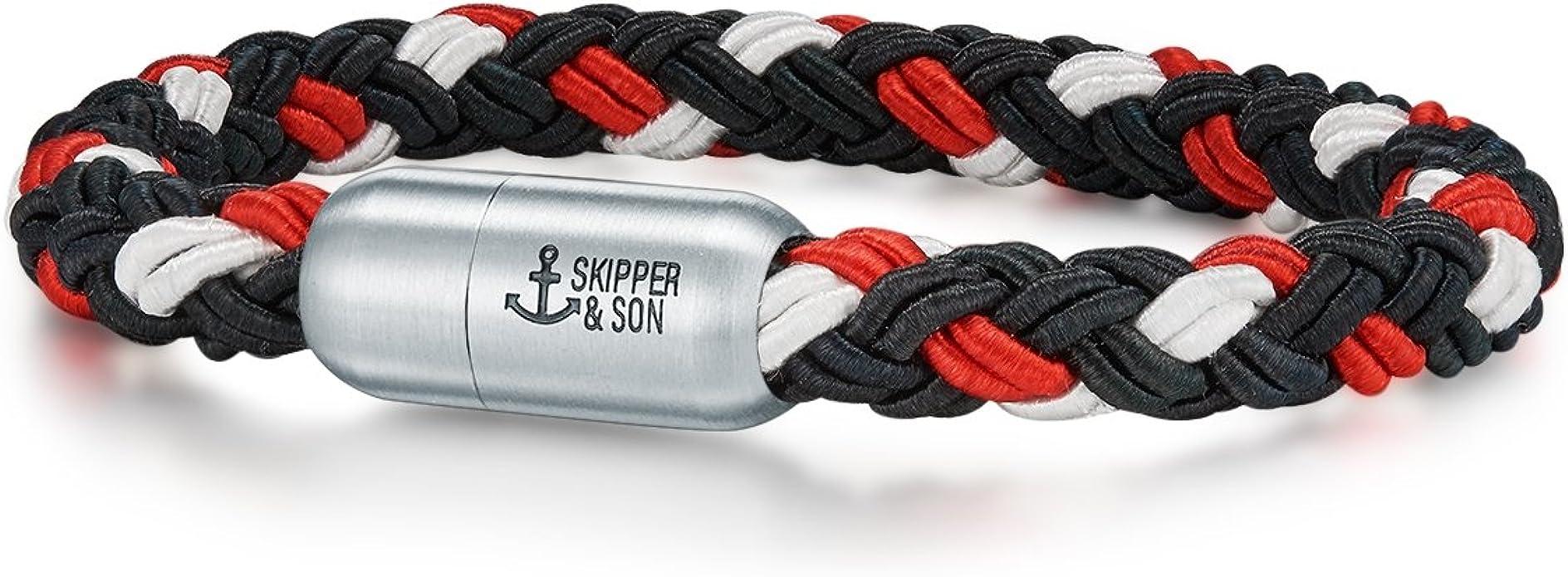 Skipper   Son Herren Armband Nylonkordel