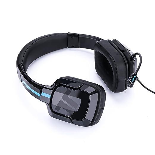 TRITTON Kama Plus Auriculares Stereo Gaming con conector de 3.5 mm y micrófono para Sony PS4, XBOX ONE XBOX ONE S, conmutador Nintendo y dispositivos ...