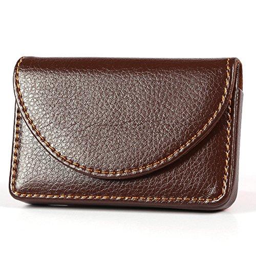KINGFOM™ PU Leather Business Name Card Case Wallet Holder