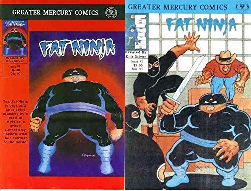 Amazon.com: FAT NINJA (1990 GM) 1-2 Jarney Boyum ...