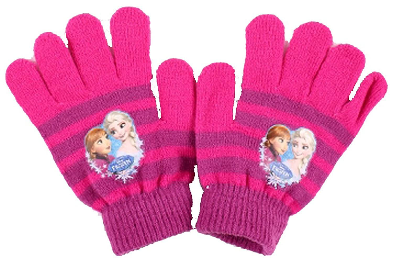 Frozen Die Eiskönigin Kinder ONE SIZE Handschuhe (ca.3-8 Jahre) in verschiedenen Farben (UN264)