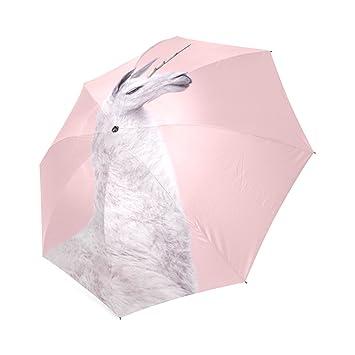 Personalized unicornio llama moda paraguas plegable paraguas de viaje