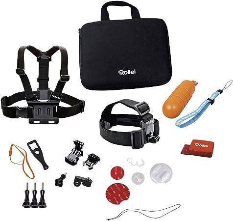 Rollei Actioncam Zubehör Set Wassersport 22 Teiliges Kamera