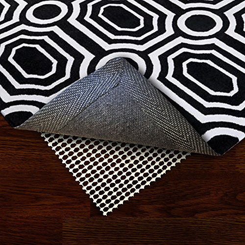 Rug Wrench Washable Non Slip Rug Pad - Protect Floors While Securing Rug and Making Vacuuming Easier by Rug Wrench