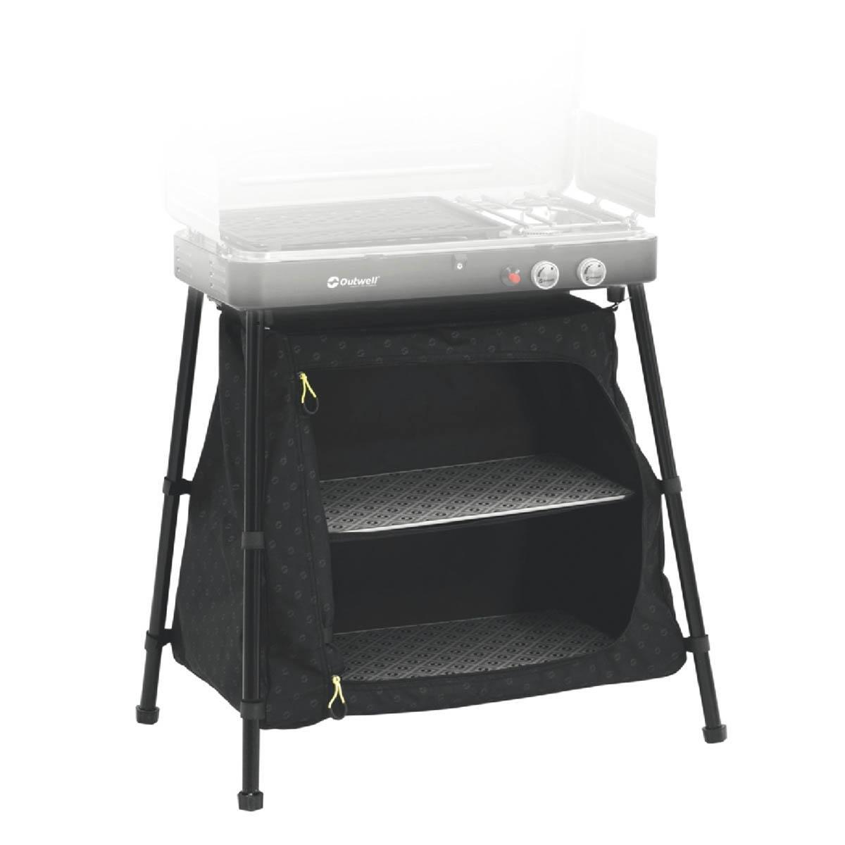 Outwell 650305 Stövchen für Campingkocher, schwarz