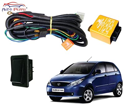 Autopearl H4 Headlamp Wiring Harness Kit for Tata Indica ... on