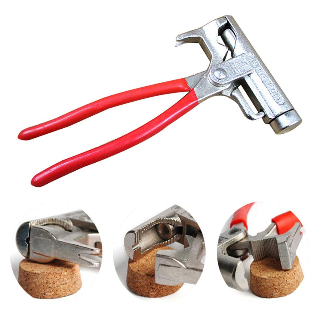 Universal Multi-Function Steel Hammer Magic Tool New Sunse 2019 New (Size: 20.5 x 11 x 2.2 cm / 0.86 x 4.33 x 8.07 inch, Red)
