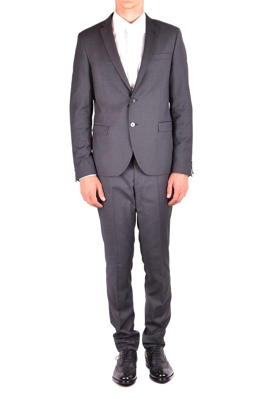 Manuel Ritz Men's MCBI34688 Grey Polyester Suit