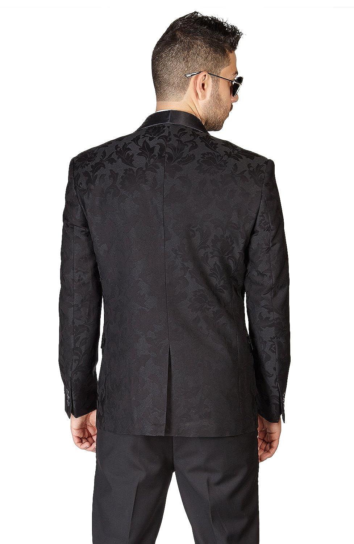 AZAR MAN Mens Slim Fit Tuxedo