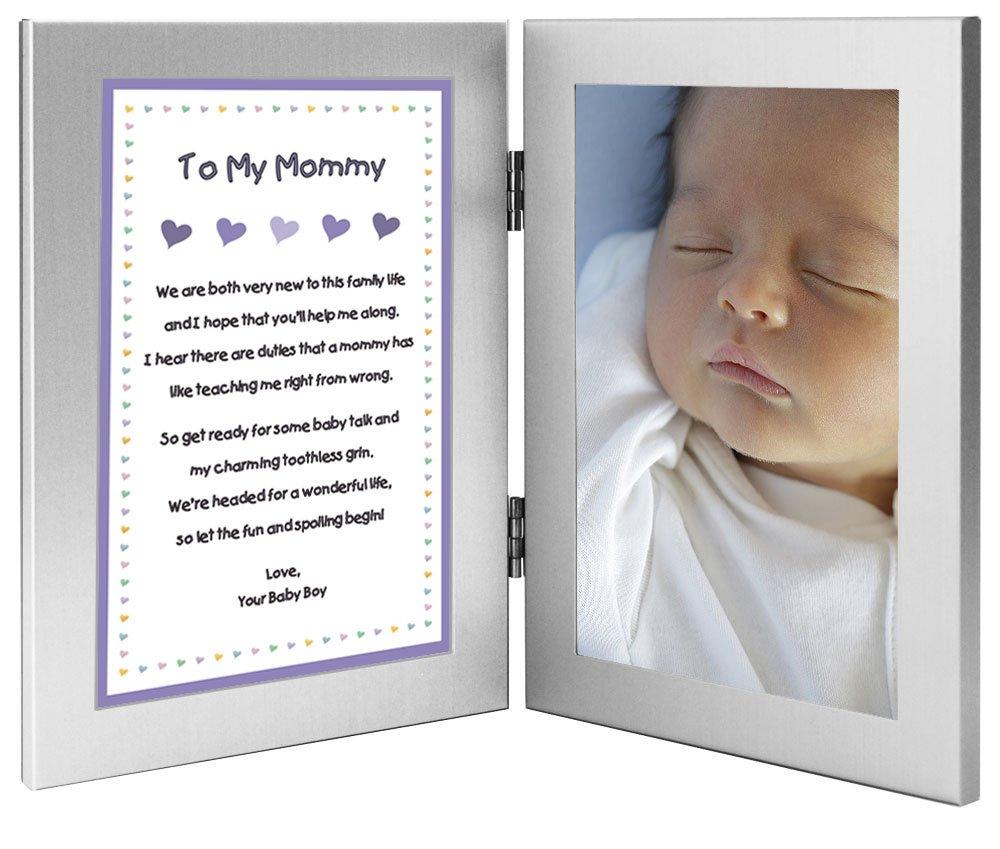 Amazon.com - New Mom Frame From Newborn Son, Sweet Poem from Newborn ...