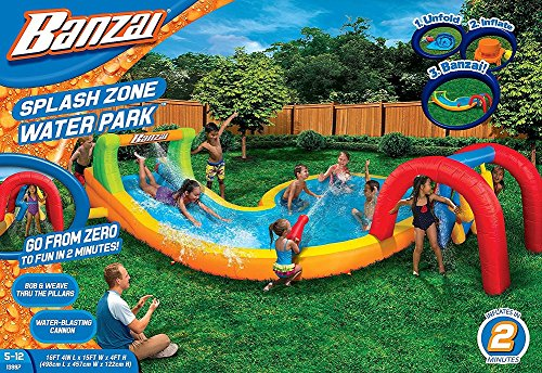 Banzai Splash Zone Water Park