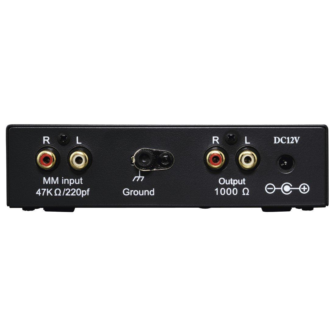 Hama PA 506 - Preamplificador de fono (230 V, 50 Hz, 300 mA), negro 00040506