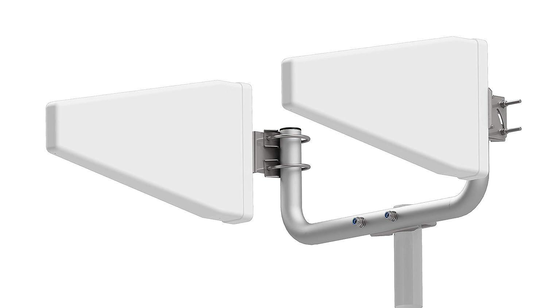 10m-compris ladaptateur i Log Yagi Uda Lot dantennes de routeur modem LTE 4G 800//900//1800//2100//2600 Mhz Gain de performance 20dB Pour lext/érieur LPDA Compatible avec Orange SFR Bouygues Huawei..
