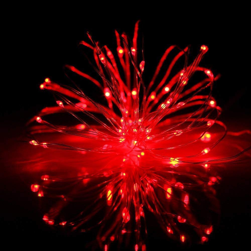 Sayla Weihnachten Deko LED Flaschenlicht 100 LED 10m Lichterkette Kupferdraht batteriebetriebene Weinflasche Lichter mit Kork Schnurlicht f/ür DIY Deko Weihnachten Party Urlaub