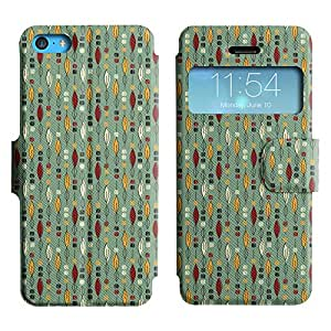 UNIQUE+ Slim Leather View Stand Case Apple iPhone 5C ( amazing pattern )