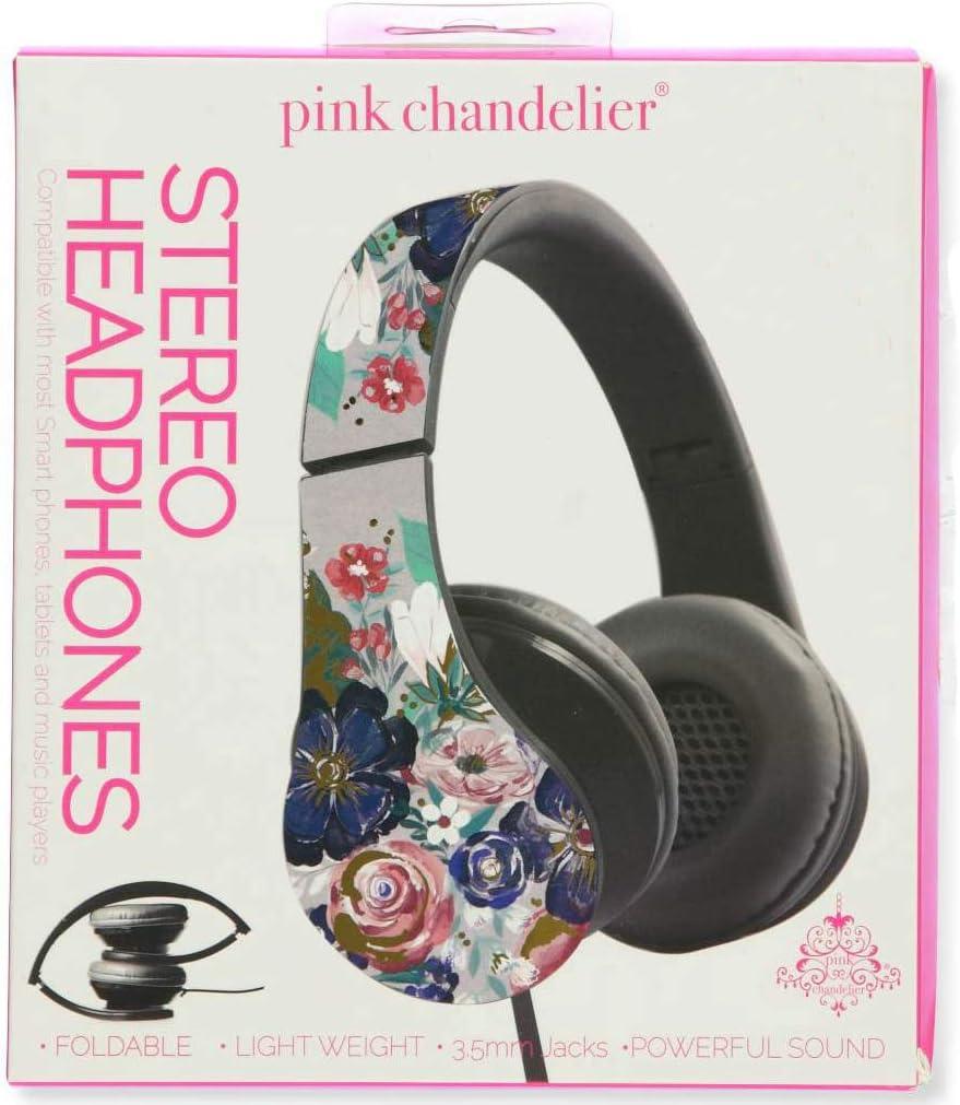 Pink Chandelier Stereo Headphones (Loni Harris)