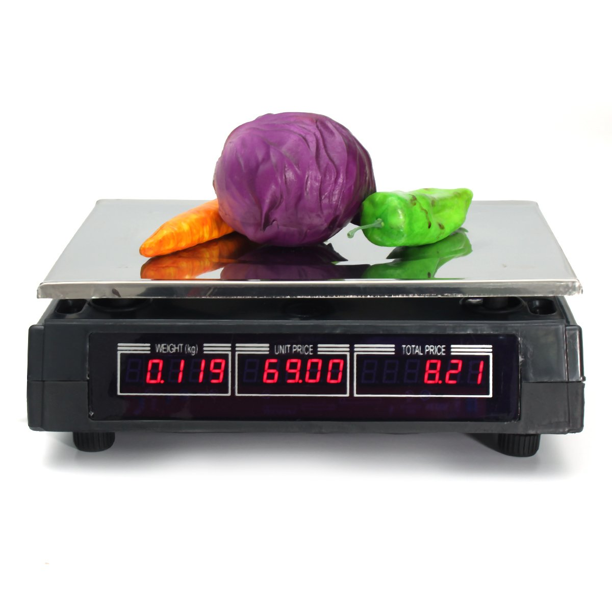 40KG Kitchen Scale Digital Commercial Shop Electronic Weight Scale Food Postal