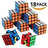Mini Cube, Puzzle Party Toy(18 Pack), Eco-friendly Material with Vivid Colors,Party favor School Supplies Puzzle Game Set for Boy Girl Kid Child, Magic Cube Goody Bag Filler Birthday Gift Giveaway