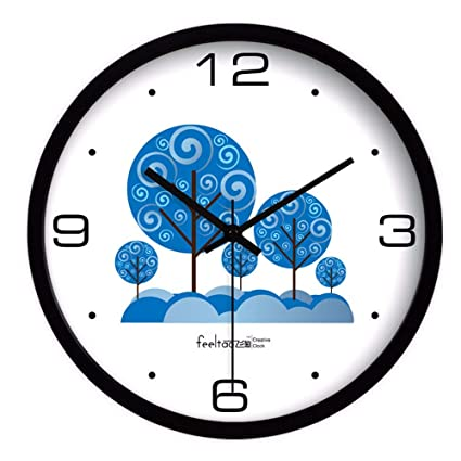 Amazon.com: Children\'s Room Clock Children\'s Bedroom Wall ...