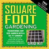 Mel's Mix Square Garden Grid Kit, 4 by 4-Feet