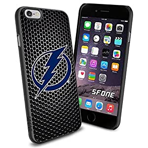 Tampa Bay Lightning Black Iron Net #1575 Hockey iPhone 6 (4.7) Case Protection Scratch Proof Soft Case Cover Protector by runtopwell