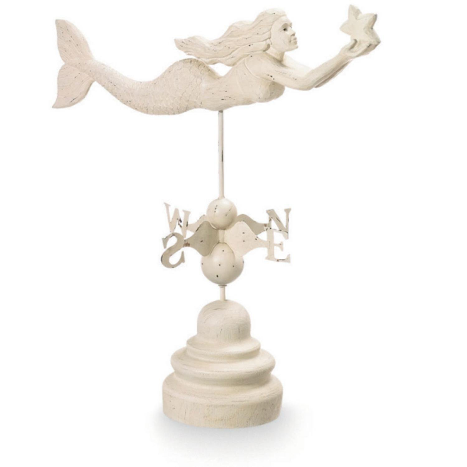 Mermaid Weather Vane by CC Home Furnishings