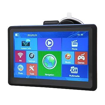 Amazon.com: Navegador GPS para coche con pantalla táctil de ...