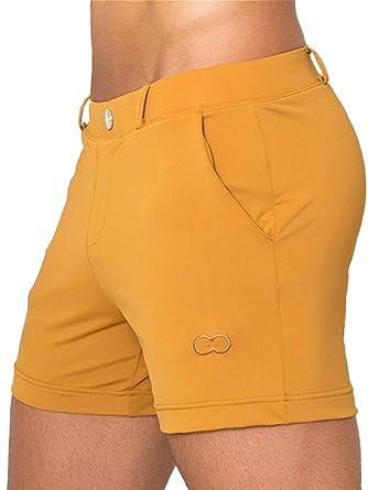 f5183a7137 2eros Herren Bondi Swimshorts White: Amazon.co.uk: Clothing