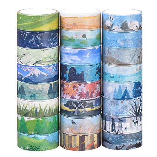 Washi Masking Tape Set of 24