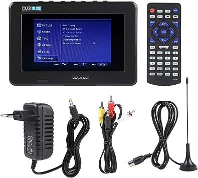 zerone televisor portátil Digital HD Mini potable TV Digital HD ...