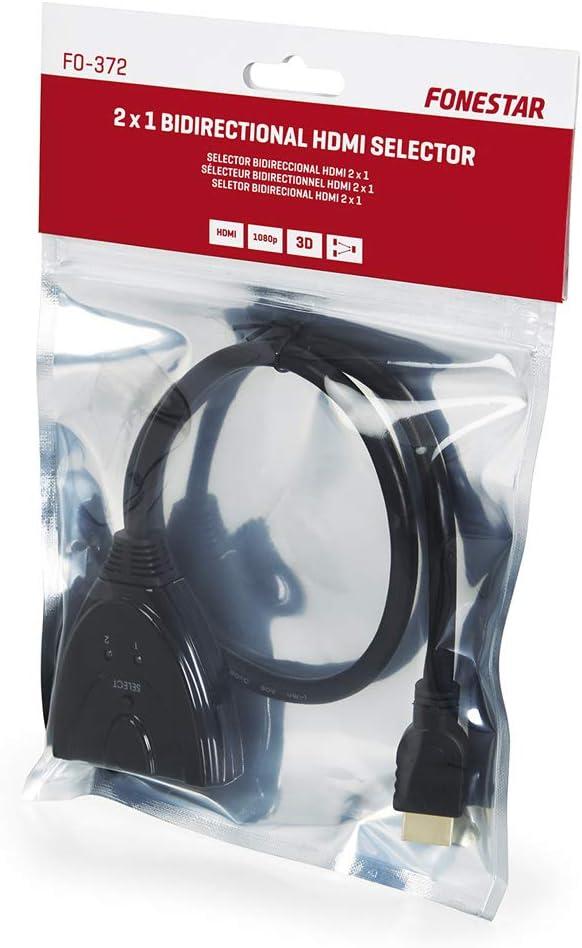 Fonestar FO-372 - Selector bidireccional HDMI 2 x 1: Amazon.es ...