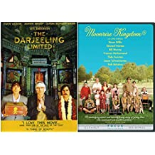 Moonrise Kingdom & Darjeeling Limited 2 DVD Set Wes Anderson Films