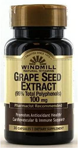 Windmill Windmill Grape Seed Extract 100Mg Caps 30 S Windmill