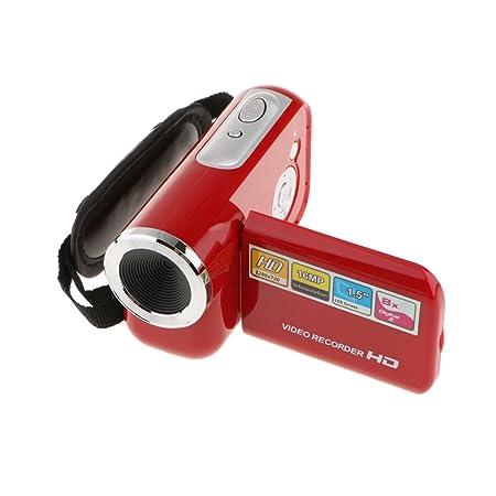 Segolike Camera Mini Digital Video Camcorder HD DV 1.8'' Screen 8x Zoom Red Point & Shoot Digital Cameras at amazon