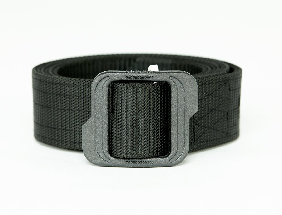 WOLF TACTICAL Nylon EDC Web Belt - Double Layered Military Style Tactical Belt - No Metal - Outdoor Sports Wilderness Hunting Tools Survival Concealed Carry CCW Holsters Pouches