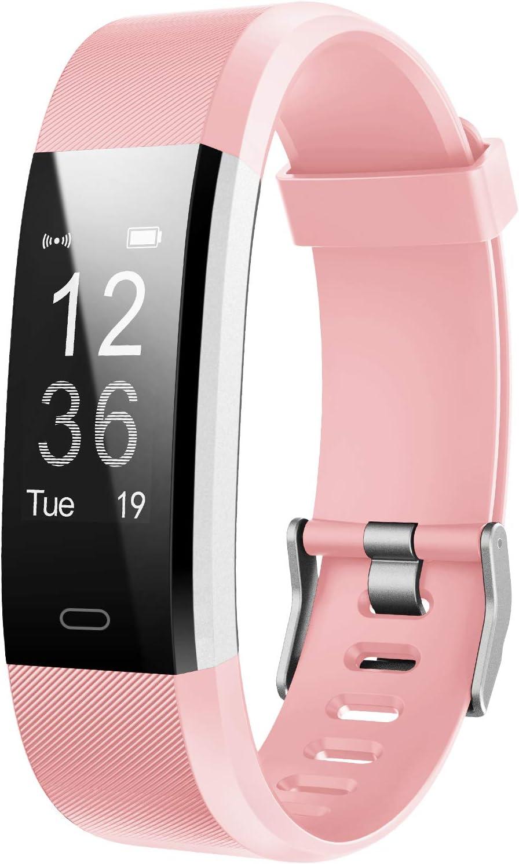 LETSCOM Bluetooth Smart Fitness Tracker HR $21.25 Coupon