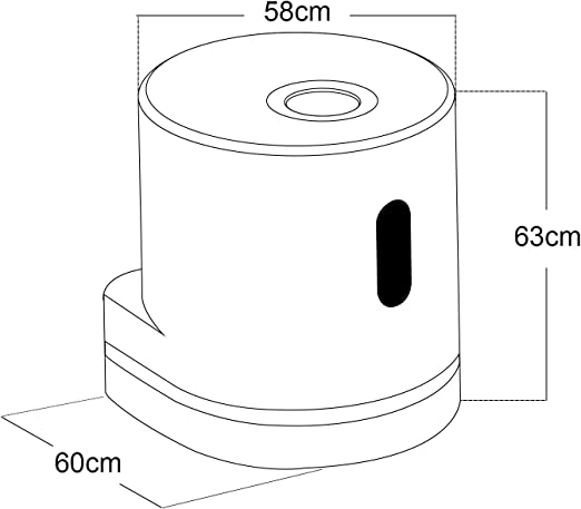 Aireador autom/ático para grifo de cocina color blanco perla Hapilife