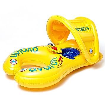 Flotador De La Natación Flotador De La Mamá Y Del Niño Flotador De La Piscina Inflable ...