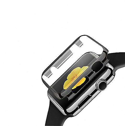 17 opinioni per Bester Apple Watch 42MM 0.26mm Piena Copertura Durezza 9H PC Temperato