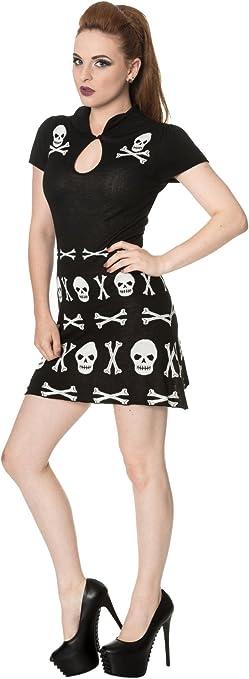 Acheter robe tete de mort online 14
