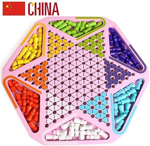 Juego De Mesa De Damas Chinas Piezas De Ajedrez Canicas, 30 X 30 X ...