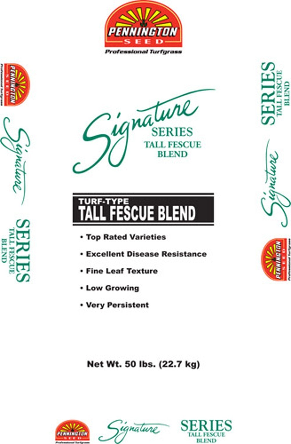 Pennington Signature Series Tall Fescue Blend BT, 50 lb