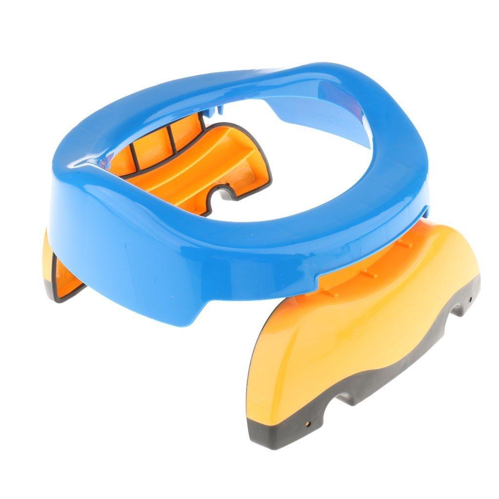 foopp plegable portátil de Potette orinal formación para bebé Viajes Potty Asiento (azul)