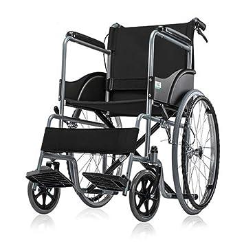 Silla de ruedas Transporte De Aluminio Plegable Ultra Liviana para Discapacitados para Personas Mayores De Viaje