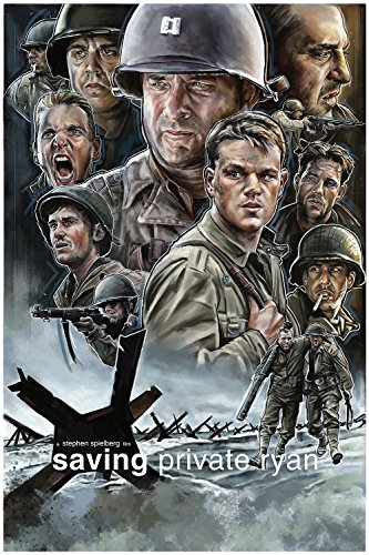 Saving Private Ryan Movie Fan Art Poster 24x36